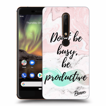 Obal pro Nokia 6.1 - Don't be busy, be productive