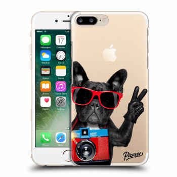 Obal pro Apple iPhone 7 Plus - French Bulldog