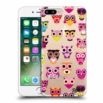 Obal pro Apple iPhone 7 Plus - Owls