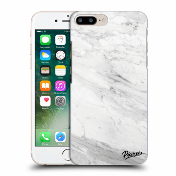 Obal pro Apple iPhone 7 Plus - White marble