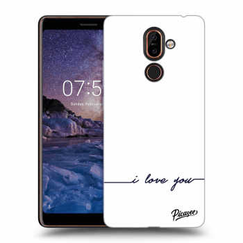 Obal pro Nokia 7 Plus - I love you
