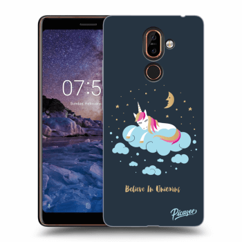 Obal pro Nokia 7 Plus - Believe In Unicorns