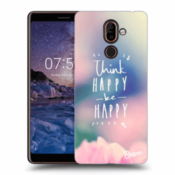 Obal pro Nokia 7 Plus - Think happy be happy