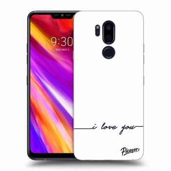 Obal pro LG G7 ThinQ - I love you
