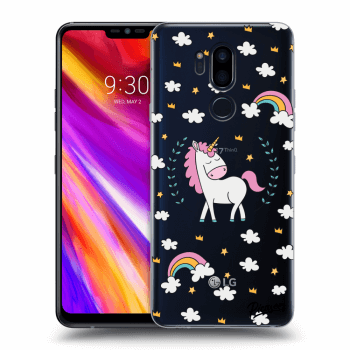 Obal pro LG G7 ThinQ - Unicorn star heaven