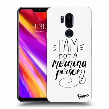 Obal pro LG G7 ThinQ - I am not a morning person