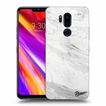 Obal pro LG G7 ThinQ - White marble