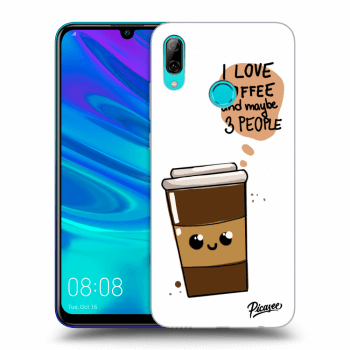 Obal pro Huawei P Smart 2019 - Cute coffee