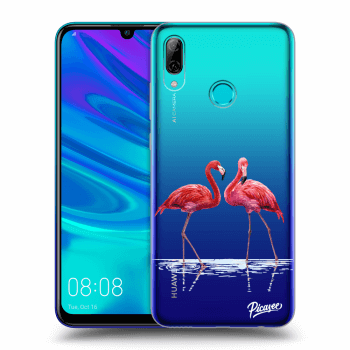 Obal pro Huawei P Smart 2019 - Flamingos couple
