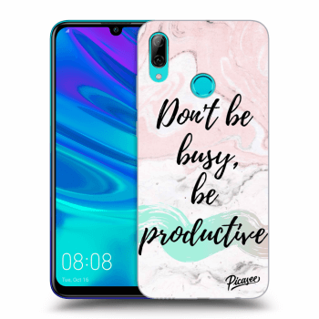 Obal pro Huawei P Smart 2019 - Don't be busy, be productive