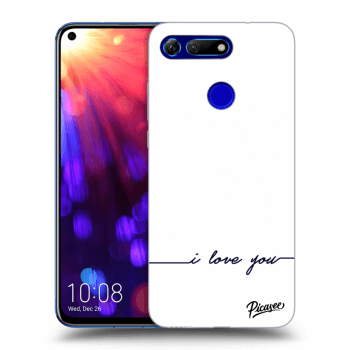 Obal pro Honor View 20 - I love you