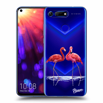 Obal pro Honor View 20 - Flamingos couple