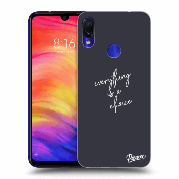 Obal pro Xiaomi Redmi Note 7 - Everything is a choice