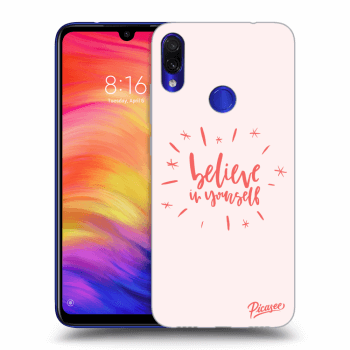 Obal pro Xiaomi Redmi Note 7 - Belive in yourself