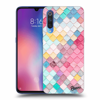 Obal pro Xiaomi Mi 9 - Colorful roof