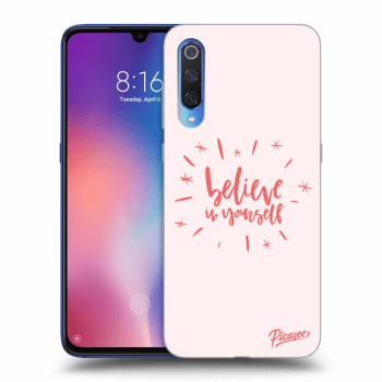 Obal pro Xiaomi Mi 9 - Believe in yourself