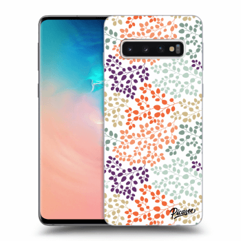 Obal pro Samsung Galaxy S10 G973 - Leaves 2