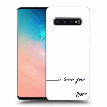 Obal pro Samsung Galaxy S10 G973 - I love you