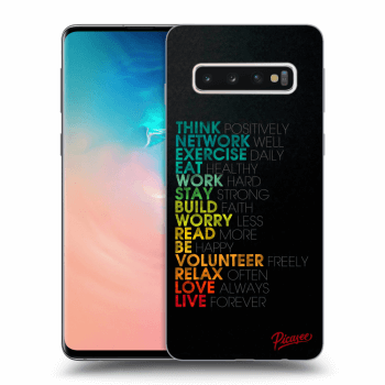 Obal pro Samsung Galaxy S10 G973 - Motto life