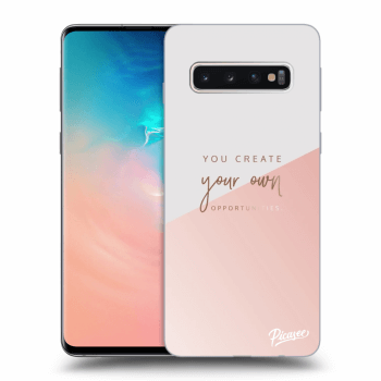 Obal pro Samsung Galaxy S10 G973 - You create your own opportunities