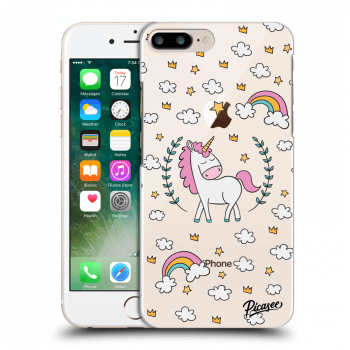 Obal pro Apple iPhone 8 Plus - Unicorn star heaven