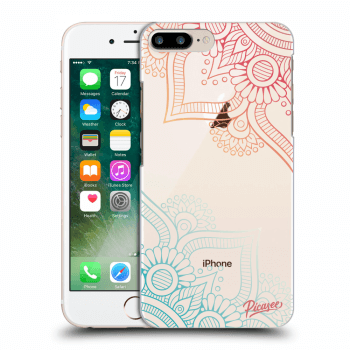 Obal pro Apple iPhone 8 Plus - Flowers pattern