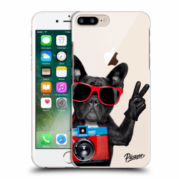 Obal pro Apple iPhone 8 Plus - French Bulldog