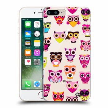 Obal pro Apple iPhone 8 Plus - Owls