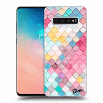 Obal pro Samsung Galaxy S10 Plus G975 - Colorful roof