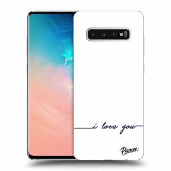 Obal pro Samsung Galaxy S10 Plus G975 - I love you