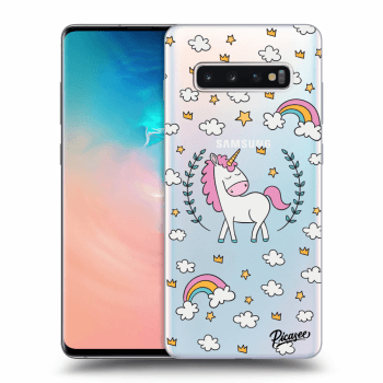 Obal pro Samsung Galaxy S10 Plus G975 - Unicorn star heaven