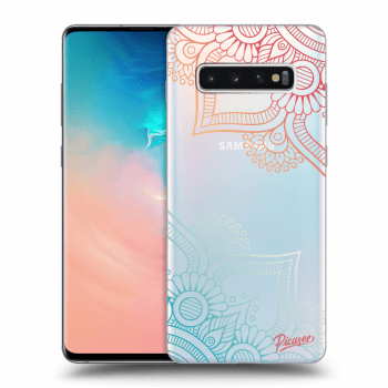 Obal pro Samsung Galaxy S10 Plus G975 - Flowers pattern