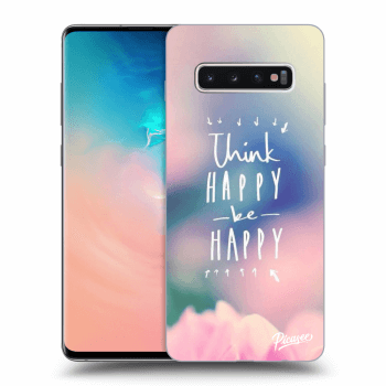 Obal pro Samsung Galaxy S10 Plus G975 - Think happy be happy