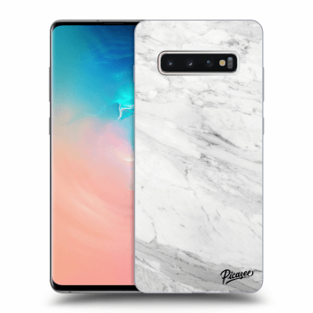 Obal pro Samsung Galaxy S10 Plus G975 - White marble