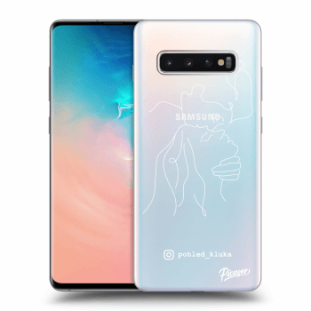Obal pro Samsung Galaxy S10 Plus G975 - Forehead kiss White
