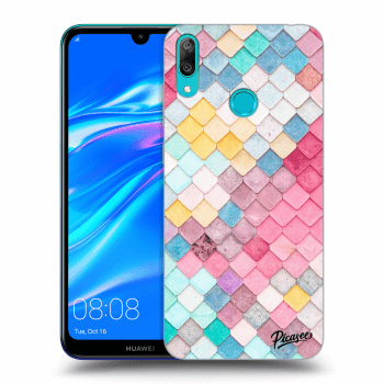 Obal pro Huawei Y7 2019 - Colorful roof