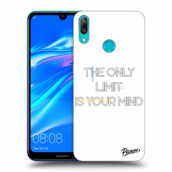 Obal pro Huawei Y7 2019 - The only limit is your mind