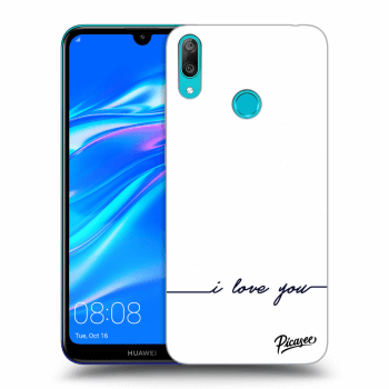 Obal pro Huawei Y7 2019 - I love you