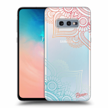 Obal pro Samsung Galaxy S10e G970 - Flowers pattern