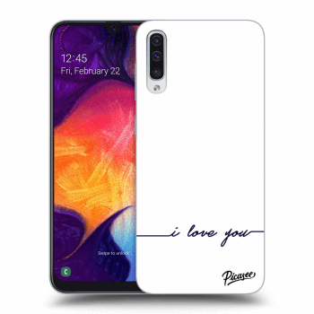 Obal pro Samsung Galaxy A50 A505F - I love you