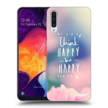 Obal pro Samsung Galaxy A50 A505F - Think happy be happy
