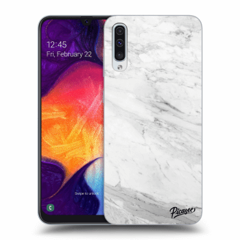 Obal pro Samsung Galaxy A50 A505F - White marble