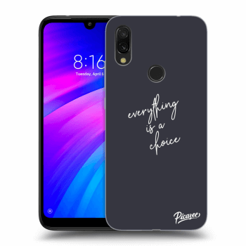 Obal pro Xiaomi Redmi 7 - Everything is a choice