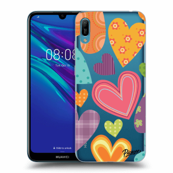 Obal pro Huawei Y6 2019 - Colored heart