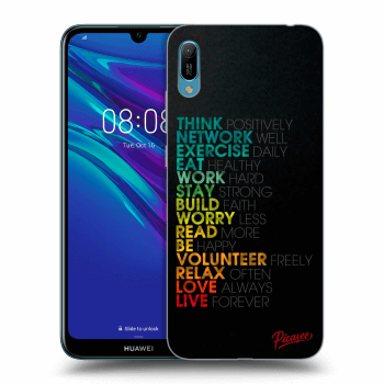 Obal pro Huawei Y6 2019 - Motto life