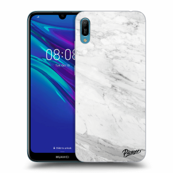 Obal pro Huawei Y6 2019 - White marble