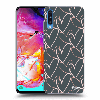 Obal pro Samsung Galaxy A70 A705F - Lots of love
