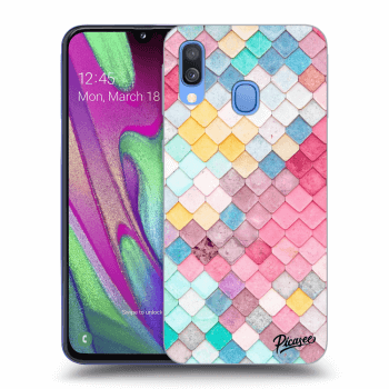 Obal pro Samsung Galaxy A40 A405F - Colorful roof