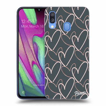 Obal pro Samsung Galaxy A40 A405F - Lots of love